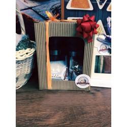 Dárková krabička - 2 mlýnky na koření